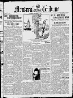 The Montreal Tribune - Google News Archive Search
