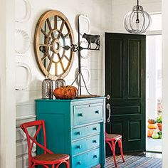 Smart Cottage Style Home | 6. Entry Hall | SouthernLiving.com