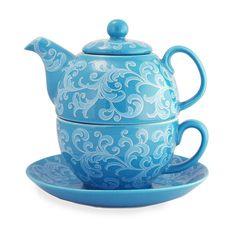 ✿ڿڰۣ(̆̃̃•Aussiegirl Tea for one!