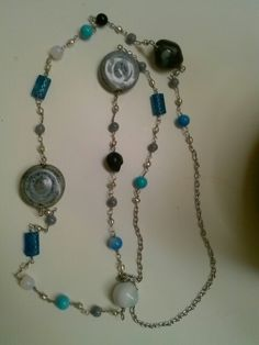 rosary wrap  necklace.