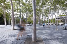 Macquarie University Central Courtyard, Hassell