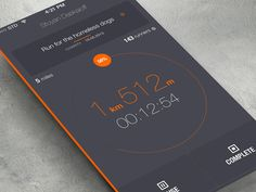 In today's showcase we will take a look at some conceptual flat design apps that you might not have seen until now.
