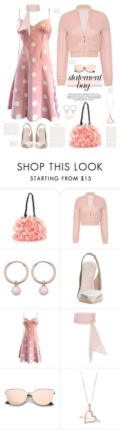 """Vintage Vibez"" by fassionista ❤ liked on Polyvore featuring White Label, Marni, Astley Clarke, Puma, Bill Blass, MDS Stripes, vintage, PolkaDots, fashionset and statementbags"