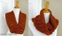 Ginger Snap Infinity Scarf