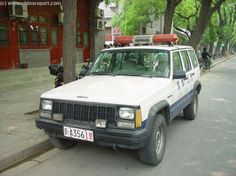 Beijing Police Cars & Vehicles Photos & Backgrounds, by China Report