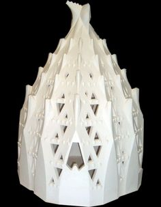Essa é uma maquete da Sacristia da Brasílica da Sagrada Família, de Gaudí.