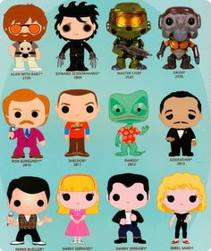 New Funko Pop! Movies concept art...the movie geek in me wants most of these