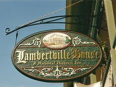 Lambertville Nj Antique Stores Sophisticated Town Without The Franchise Bore Winter New