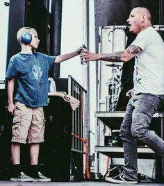 Corey and his son, Griffin