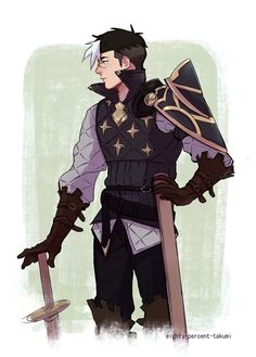 Save me, my paladin in shining armour!
