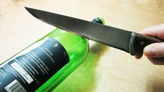 How to cut Glass Bottle - Best and Easiest Way