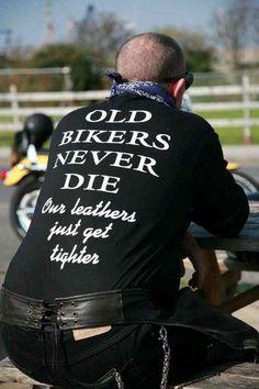 Old Bikers...