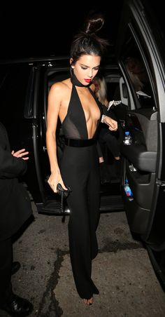 Kendall Jenner Rang in Her 20th Birthday in a Jumpsuit You Have to See                                                                                                                                                                                 More