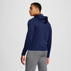 Men's Tech Fleece Pullover Hoodie Dark Blue 2XL - C9 Champion, Size: Xxl, Dark Night Blue