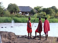 Karen Blixen Camp, #Kenya. Learn more about the country from the traditional #Massai.