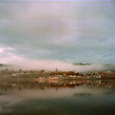 Gaspé sous la brume d'automne Art Gallery, Galerie D'art, Photos, Clouds, River, Outdoor, Film Photography, Picture Frame, Impressionism