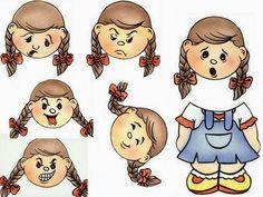 Our Feelings Educational Toy Molds - Preschool Children Akctivitiys Feelings Activities, Montessori Activities, Preschool Activities, Discipline Positive, Feelings And Emotions, Speech And Language, Kids Education, Social Skills, Pre School