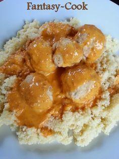 Boulettes de poulet et sauce au chorizo (Thermomix)