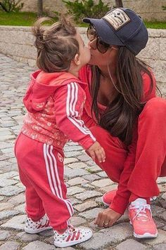 sporty mum and girl :)