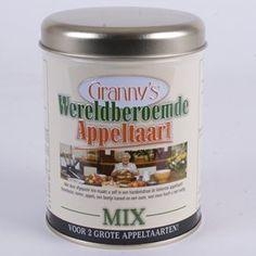 Granny´s Wereldberoemde Appeltaart Mix - De Kaasbank: online webshop om kaas en delicatessen te bestellen en te kopen