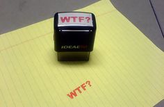 WTF? stamp