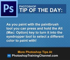 As you paint with the paintbrush tool you can press and hold the Alt (Mac: Option) key to turn it into the eyedropper tool to select a different color to paint with!