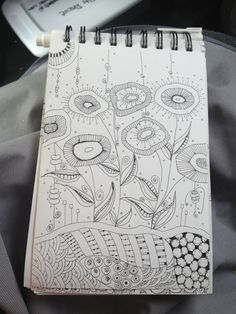 Another Zentangle Garden
