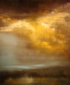 """Saatchi+Art+Artist+Maurice+Sapiro;+Painting,+""""Mist""""+#art"""
