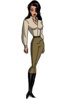 Talia - Batman Beyond Marvel Women, Marvel Dc, Ras Al Ghul, Talia Al Ghul, V For Vendetta, Bruce Timm, Arkham Asylum, Batman Beyond, Dc Heroes