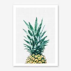 Pineapple II Print By Vivid Atelier - Fy