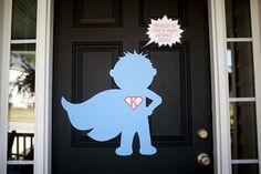 super cute super hero birthday party
