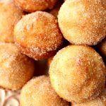 Cinnamon Sugar Mini Donut Muffins recipe card