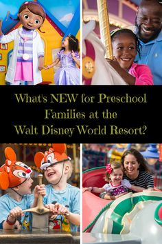 What's NEW for Preschool Families at the Walt Disney World Resort?