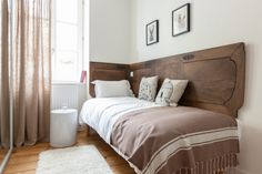 For your stay in Saint Malo, book the family room If & Cytise. A guesthouse of charm ideally located in Saint Malo. St Malo, Villa, Bed, Furniture, Home Decor, Home Decoration, Bedrooms, Decoration Home, Room Decor