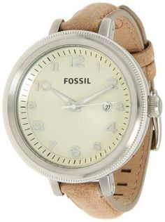 Fossil Bridgette Leather - Sand Women's watch #AM4391 Fossil. $72.54. Bridgette Collection. 42mm Case Diameter. Mineral Crystal. 100 Meters / 330 Feet / 10 ATM Water Resistant. Quartz Movement. Save 15%!
