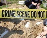 CSI Forensic science workshops for schools; Setting the crime scene