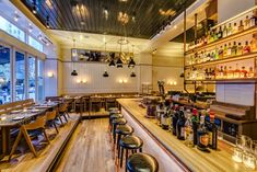 Most Stylish Restaurants In New York Photos Architectural Digest Upland Nyc