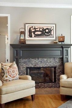 Favorites from the 2015 Paint Color Forecasts.  Love Black Fox from Sherwin Williams (on the fireplace mantle).  It has a touch of brown and gray in the color, so it works with almost anything.  Awesome trim and interior door color.