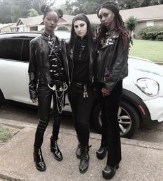What's My Aesthetic, Goth Subculture, Afro Punk, Emo Goth, Cybergoth, Alternative Girls, School Outfits, Lineup, My Style