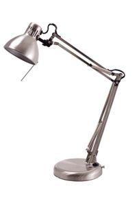 Jastek Executive Halogen Lamp 520mm Satin Desk Lamp, Table Lamp, Office Lamp, Halogen Lamp, Satin, Lighting, Home Decor, Lamp Table, Light Fixtures