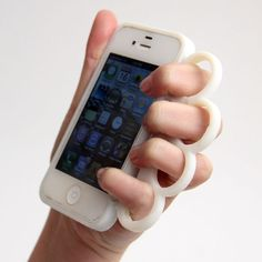 Picture of knuckleduster phone case