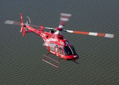 Helicopter Bell 407 Ranger In Red Aircraft Wallpaper 2645 Design 1600x1143 Pixel