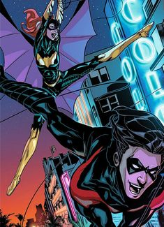 Batgirl Nightwing Seriously How Does Some One Not Like This