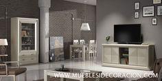 Muebles Salón Moderno del catálogo de Mueblesidecoracon.com. Fabricamos muebles a medida.  Consulta todo el catálogo en http://mueblesidecoracion.com/es/12-salones
