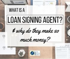 What is a Loan Signing Agent? Work From Home Moms, Make Money From Home, Way To Make Money, Notary Service, Getting Into Real Estate, Notary Public, Travel Jobs, Show Me The Money, Facebook Business