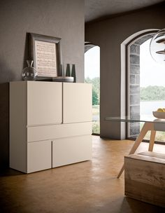QUADRA sideboard | Design by R&S PIANCA
