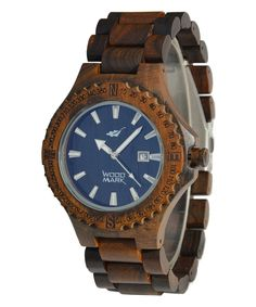 Awesome wooden watch.