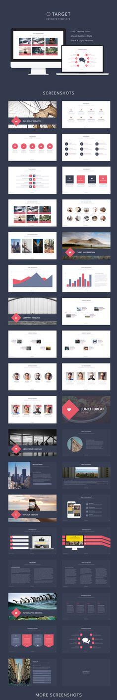 Target Keynote Template #design #slides Download: http://graphicriver.net/item/target-keynote-template/14008009?ref=ksioks