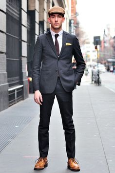 http://chicerman.com  the-suit-men:  Follow The-Suit-Men for more menswear inspiration.Like the page on Facebook!  #streetstyleformen