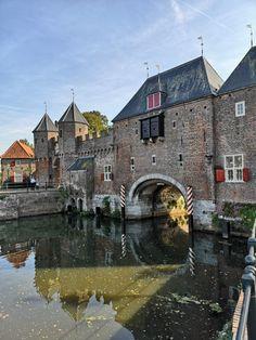 Amersfoort Holland Netherlands, Countries To Visit, Medieval Castle, Modern Buildings, Utrecht, Adventure Travel, Beautiful Places, Cityscapes, Bridges
